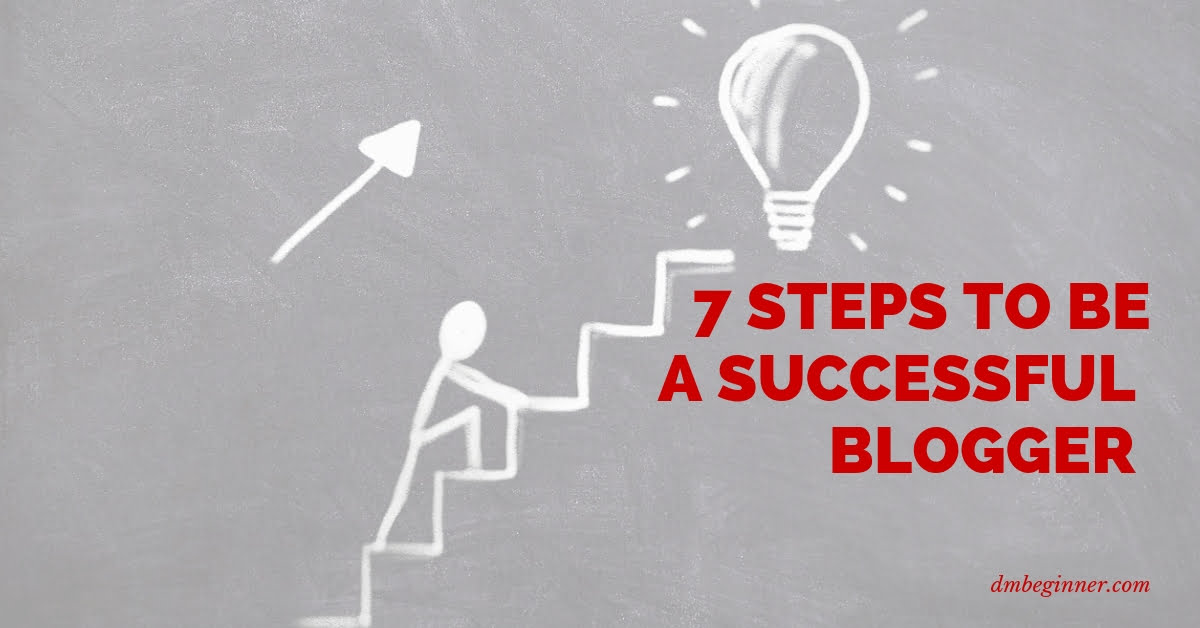 Blogger Steps from Beginning